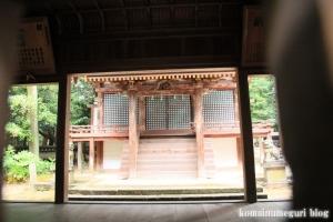 和爾下(わにした)神社 (天理市櫟本町)46