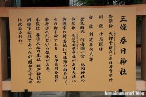 春日神社(奈良市二条大路南)3
