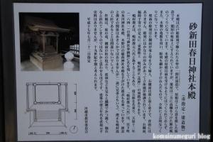 春日神社(川越市砂新田)9