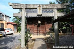 厳島神社(い川越市砂)4