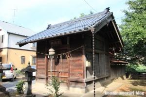 厳島神社(い川越市砂)8