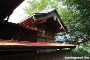 厳島神社(い川越市砂)9
