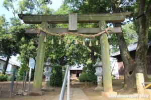 砂氷川神社(川越市砂)4