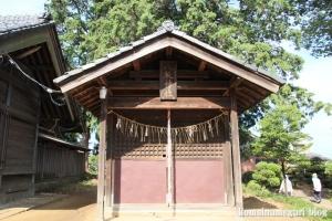 砂氷川神社(川越市砂)16
