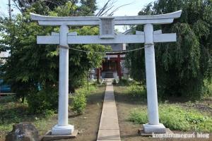 花山稲荷神社(川越市寺尾)2
