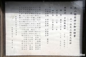 花山稲荷神社(川越市寺尾)4