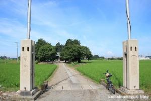 南田島氷川神社(川越市南田島)1