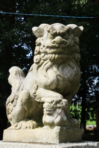 南田島氷川神社(川越市南田島)8