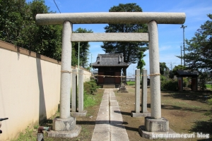 御嶽神社(川越市八ツ島)3