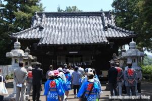 鴨田八幡神社(川越市鴨田)4