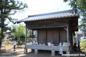 鴨田八幡神社(川越市鴨田)5