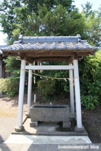 鴨田八幡神社(川越市鴨田)3