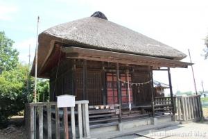 薬師神社(川越市伊佐沼)6