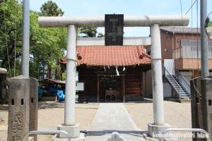 木野目稲荷神社(川越市木野目)2