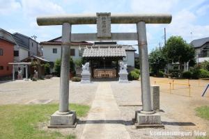 新明神社(川越市今泉)2