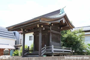 新明神社(川越市今泉)11