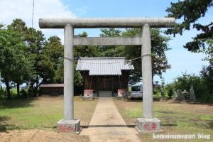 陸道稲荷神社(川越市萱沼)2