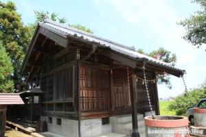 陸道稲荷神社(川越市萱沼)7