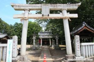 氷川神社(川越市古谷郷上組)2