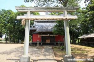 氷川神社(川越市古谷郷上組)7