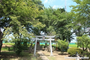 神明神社(川越市萱沼)1