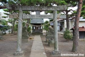氷川神社(川越市古谷本郷上組)2