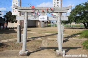 稲荷神社(さいたま市西区西遊馬)2