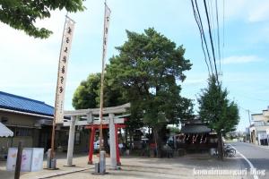 八幡神社(さいたま市西区西遊馬)1
