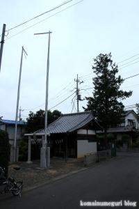 八雲神社(さいたま市西区宝来)1