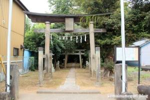 穂積神社(さいたま市西区峰岸)1
