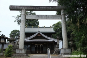 秋葉神社(さいたま市西区中釘)2