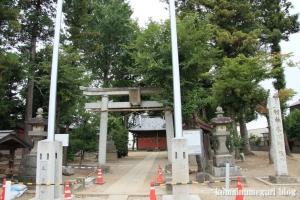 氷川神社(さいたま市西区西遊馬)1