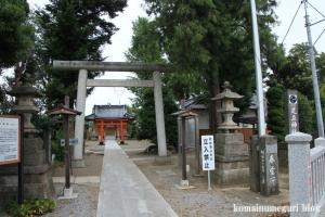 足立神社(さいたま市西区飯田)1