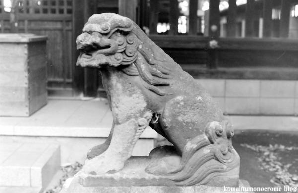 大間木氷川神社(さいたま市緑区東浦和)1