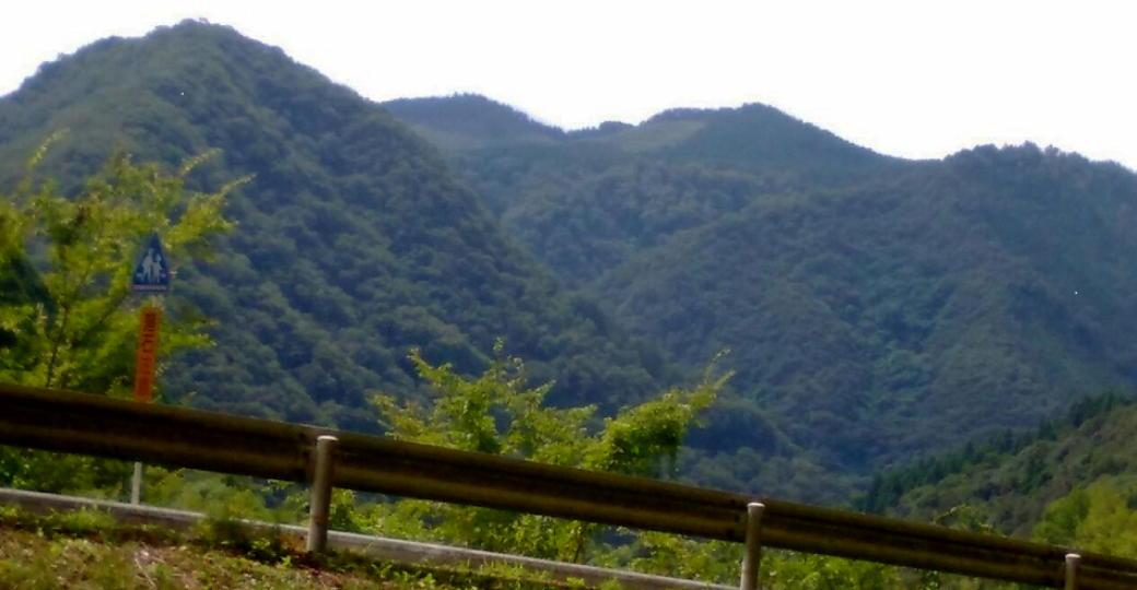 本宮山の全景