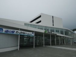 JR稚内駅と隣接する道の駅
