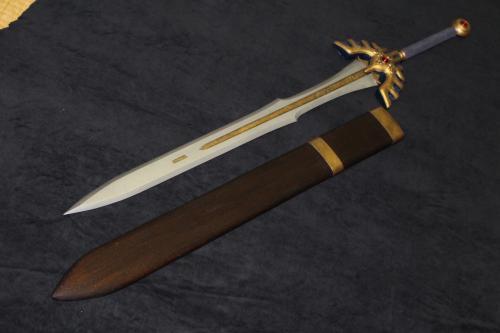 N様攻略本の表紙verロトの剣と鞘