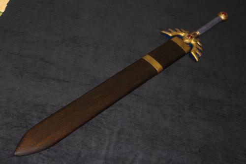 N様攻略本の表紙verロトの剣と鞘2