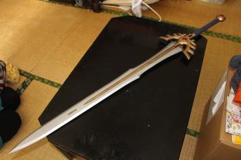 N様ロトの剣金属コーティング刀身