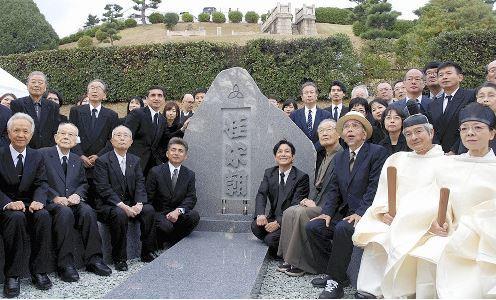 米朝師匠のお墓(2)