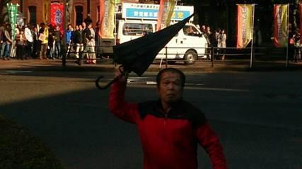 社民党系縣憲法を守る会に抗議5