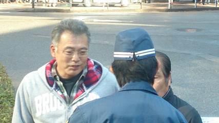 社民党系縣憲法を守る会に抗議6
