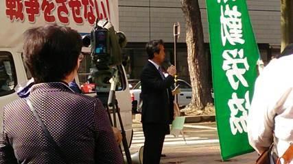 社民党系縣憲法を守る会に抗議14