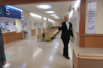松江b市立病院のロビー