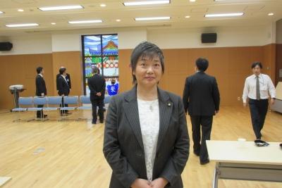 松江市立病院の会議室