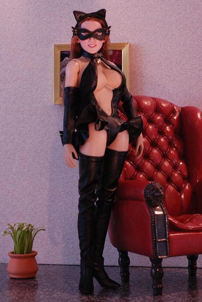 cat style corset0103
