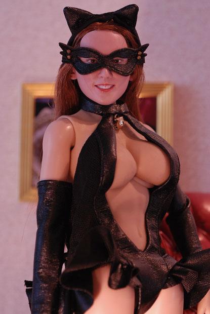 cat style corset0104