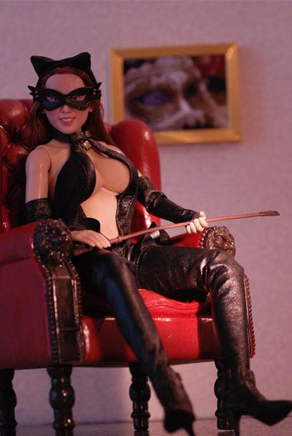 cat style corset0105