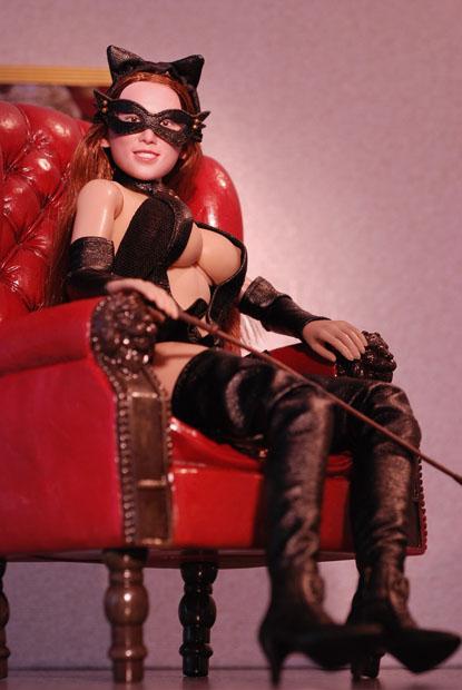 cat style corset0124