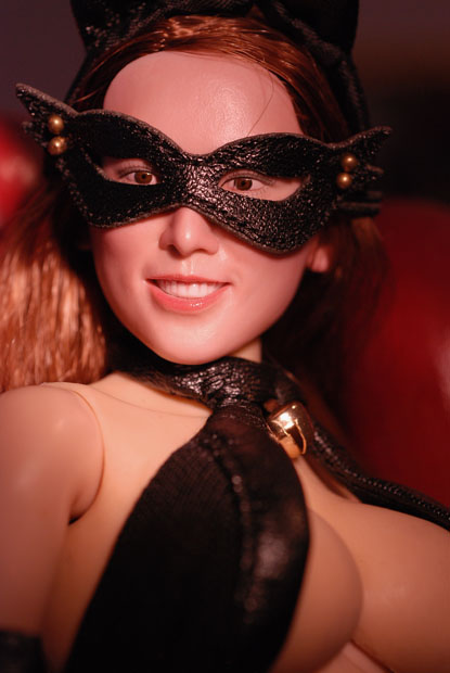 cat style corset0125
